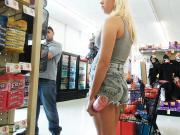 Teen in line