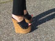 18 cm Cork Wedges And ICE