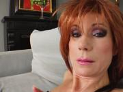 Milf Thing Redhead milf gets her mature pussy fucked