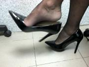 Shoeplay Black Heels