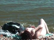 Real amateur hidden nudist voyeur video