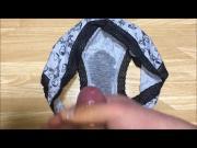 Cumming on panties