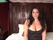 Latina babe reveals phat ass