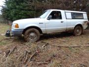 Stuck in mud by the fence
