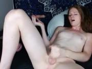 Melody Lane 170925 sperms her penis short version