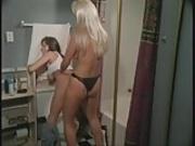 Bathroom Strap-on action - Devinn