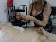 Huddersfield Mistress V - CBT with needles