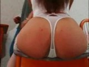 Sexy Wife Getting Ass Fucked when her husband goes out...F70