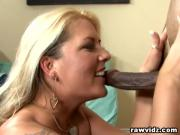 Blonde MILF Excited For Hot Dude's BBC