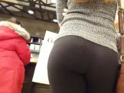 Beautiful ass in leggins
