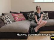 Auditioning australian cocksucking and fucks