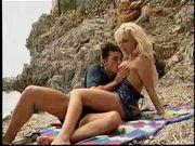 German babe Kelly Trump fucking on the beach