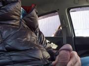 dick flash in car 5