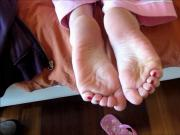 Nina's sexy toes and soles!