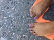 Coneisha Purple Toes