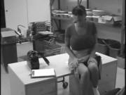 Katanya Blade security cam masturbation
