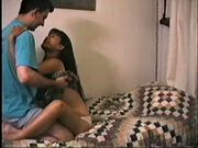 Asian college girl fucking boyfriend part 1