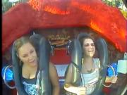 Oops Big Boobs & Tits in Roller coasters Compilation