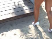 white peep toes heels