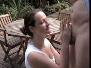 Amateur Outdoor Cum Swallow