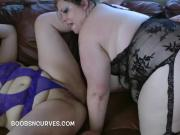 Two Plumpers using guys just for sex