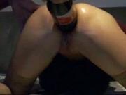 Anal Coke Bottle