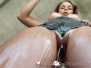 Exotic4K - Exotic Raven Redmond dripping wet pussy fucked