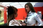 Hot lesbians Cathy Heaven & Megan Cole part1
