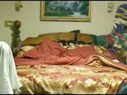 Hidden cam in bedroom of my mom