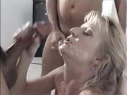 Marilyn Martin vs two cocks