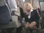 It makes love to the cabin attendant 3(censored -)