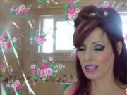 Kinky Milf Shanda Fay Cums in the Shower with Glass Dildo!