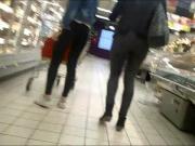 Milf & teen... at mall