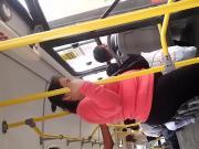 Abuela mega culona en bus