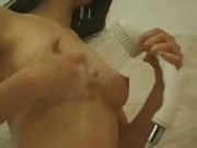 Hairy Brunette Loves Anal