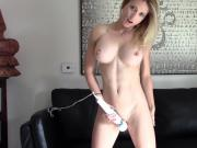 Blonde webcam goddess 27 - Hitachi orgasm
