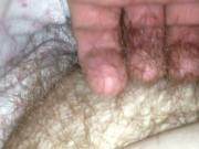 rubbing the wifes soft belly, hairy pussy & nipples 530am