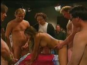 Gangbanged Jasmine St. Claire movie