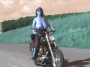 Big titty Sleazy Rider