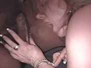 Chubby Slut Wife Gets Gangbanged by 4 Big Black Cocks chunk4of4.elN