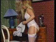 Rare Susie Haines undresses and plays.