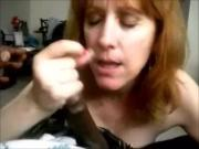 American mom v Black tasty lollipop