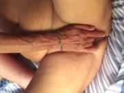 Granny Ann Gets Fingered and Takes a Mouthful While Camping