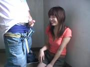 Amateur Japan gal helps big orgasm