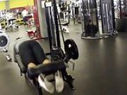 jacking in my pants at the gym 3