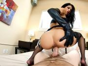 PornGoesPro - Teen Veronica Rodriguez is punished by a big