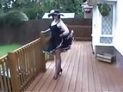 Classy MILF in The Garden