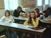 school girls in action