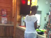 Ass n hips granny at Popeyes