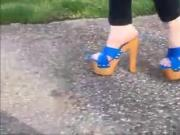 Giuseppe Zanotti High Heel Platforms In Motion